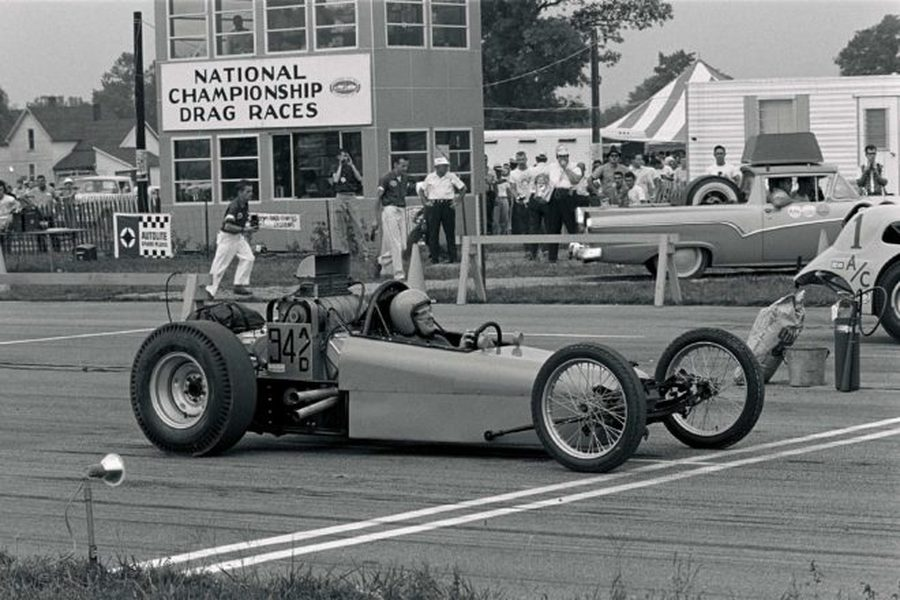 DRAGSTERS - GEORGE KLASS REMEMBERS...